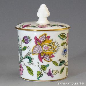 英国製 ミントン Minton ハドンホール 金彩 シュガーポット Sサイズ 廃版品|swan-antiques