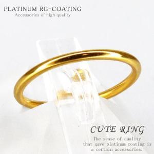 選べるサイズ 銀製シルバー925製 ピンキーリング プレーン リッチゴールドカラー 人気 メンズ ペアリング レディース 極細シンプルリング 指輪 air62|swan-hoseki