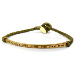 特別価格999円 メンズ 煌きブレスレット ブレス セレブ 刻印 紐 ゴールド グリーン 緑b940|swan-hoseki