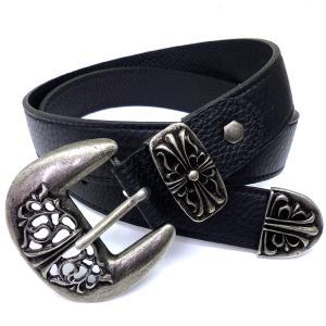belt1 限定 超激レア バックルベルト レザー黒革調|swan-hoseki