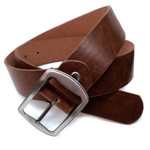 belt15 新型 人気の本革風 フェイクレザーベルト入荷 イケメン必須 濃茶|swan-hoseki