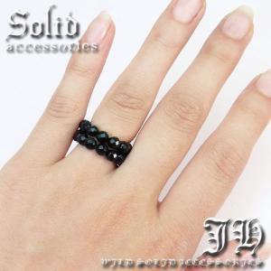 超豪華 本物保証  指輪 入荷 ブラックスピネルCut スピネル天然石オニキスリング パワーストーン 指輪 ペアにもchr10 L swan-hoseki 04