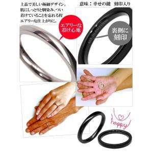 ペアリング シンプル 極細 刻印 高級 ステンレス製 指輪 人気 ペア プレゼント カップル シルバー ブルー ピンキーリング chsr34-37|swan-hoseki|02