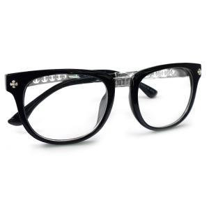 伊達メガネ メンズ レディース おしゃれ シンプル 大きい スクエア 人気 サングラス 黒ぶち眼鏡 伊達めがね 黒縁cs163|swan-hoseki|03