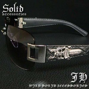 cs53 ブラックフェイス ダガーサングラス L6306-1|swan-hoseki