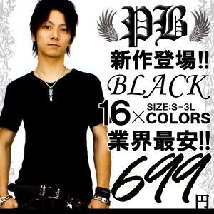 f13 全16色 キレイめお兄系アメカジVネックTシャツ メンズ半袖 ブラック黒 細 タイト キレカジ s m l ll xl swan-hoseki
