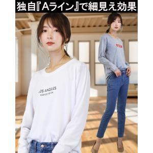 ロゴtシャツ レディース カットソー tシャツ レディース 長袖 tシャツ おしゃれ ゆるカジ きれいめ 大きいサイズ トップス f5000-lady 新作 夏 夏服 夏物 2020|swan-hoseki|02
