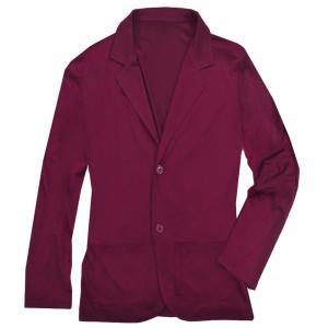 テーラードジャケット メンズ ジャケット キレイめ ビジネス カジュアル 無地 アウター ダークパープル 濃紫色 f572|swan-hoseki