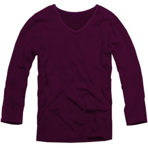f75 全16色業界最安 激安699円 VネックロンTシャツ メンズ長袖 ダークパープル濃紫ワイン 細 タイト キレカジ s m l ll xl メンズ 長袖 swan-hoseki