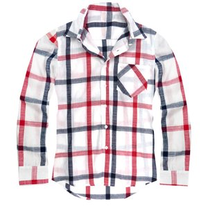 チェックシャツ メンズ 長袖シャツ チェック柄 ホワイト 白...