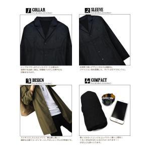 ジャケット メンズ シャツジャケット カジュアル おしゃれ 薄手 ブラック グレー ネイビー キャメル カーキ  メンズ アウター m l xl   f940-f944|swan-hoseki|11