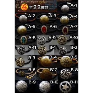 全32種類 サロンで人気のコンチョsvブレス ヘアゴム シルバー調 アンティーク風 黒gom398|swan-hoseki|02