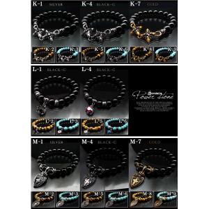 kb3 最強の運 全117種 本物天然石使用 大玉10mmパワーストーン 高級ブレスレット 煌きGlass メンズ悪羅悪羅ブレスレット swan-hoseki 03