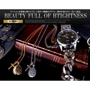 メンズ ネックレス メンズネックレス 人気 ブランド クロス マリア 十字架 全3種類 アンティーク調n1303-cr|swan-hoseki|02