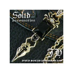 ネックレス メンズ ゴールド シンプル おしゃれ 男性用 ロング クロス 十字架 n521|swan-hoseki