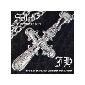 今だけ180円 最強アクセ誕生 ロザリオクロスネックレス プラチナsvRG加工 ペアでもおススメn528|swan-hoseki