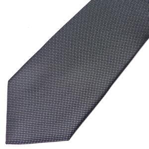 ネクタイ メンズ 幅 7cm グレー 灰色 ホワイト 白 柄 ナロータイ ビジネス カジュアル ne137|swan-hoseki