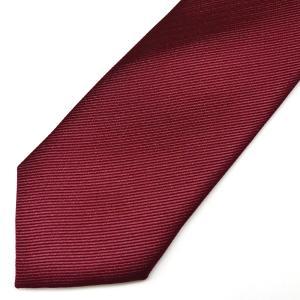 ネクタイ メンズ 幅 7cm レッド 赤 無地 ナロータイ ビジネス カジュアル ne151 swan-hoseki