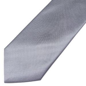 ネクタイ メンズ 幅 7cm グレー 灰色 無地 ナロータイ ビジネス カジュアル ne152|swan-hoseki