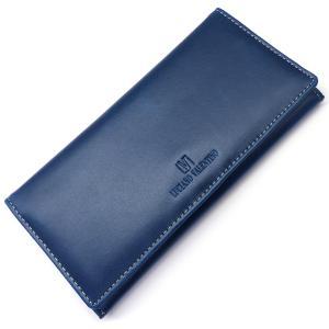 sai102 青 本物ブランドが999円 ルチアーノ・バレンチノ 長財布 ブルー本革 本皮 二つ折り 必見|swan-hoseki