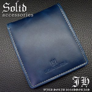 sai104 青 本物ブランドが999円 ルチアーノ・バレンチノ 短財布 ブルー本革 本皮 二つ折り 必見|swan-hoseki