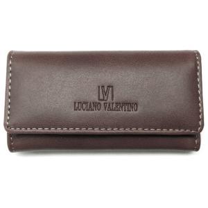 本革 キーケース ブランド バレンチノ VALENTINO メンズ レディース 人気 皮 茶色 ブラウン sai163|swan-hoseki