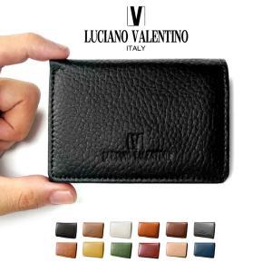 ブランド 本革 ミニ財布 三つ折り財布 メンズ レディース 兼用 ルチアーノ バレンチノ 皮 革 小さい 二つ折り財布 小さい財布 定期入れ おしゃれ 小銭入れ付き