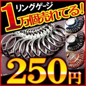 指輪のサイズが測れます リング サイズ リングゲージ 1号〜27号 全14サイズ測定可能 sg2-5|swan-hoseki