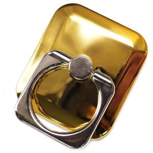 【在庫限り】 スマホリング おしゃれ シンプル ゴールド cr シルバー cr バンカーリング かわいい おすすめ スマートフォン sma36|swan-hoseki