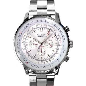 メンズ 腕時計 3針 自動巻き 防水 クロノグラフ 人気 おしゃれ ブランド 格安 おすすめ アナログ メタル ベルト スポーツ t131|swan-hoseki