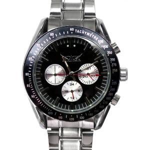 メンズ 腕時計 3針 自動巻き 防水 クロノグラフ 人気 おしゃれ ブランド 格安 おすすめ アナログ メタル ベルト スポーツ t149|swan-hoseki