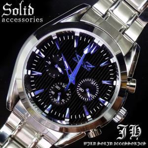メンズ 腕時計 3針 自動巻き 防水 クロノグラフ 人気 おしゃれ ブランド 格安 おすすめ アナログ 革ベルト スポーツ t151|swan-hoseki
