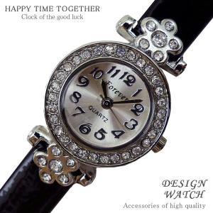 腕時計 時計 レディース 安い 人気 おしゃれ ブランド 格安 カジュアル 革ベルト スポーツ ブラック黒 tvs188|swan-hoseki