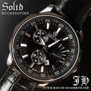 メンズ腕時計 腕時計 メンズ レディース おしゃれ ブラック  ベルト 時計 アンティーク 安価 腕時計 日付 付き 見やすい tvs266|swan-hoseki