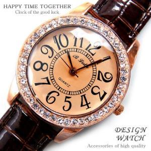 腕時計 時計 レディース 安い 人気 おしゃれ ブランド 格安 カジュアル 革ベルト スポーツ ブラウン茶 tvs64|swan-hoseki