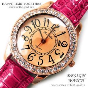 腕時計 時計 レディース 安い 人気 おしゃれ ブランド 格安 カジュアル 革ベルト スポーツ ピンク 桃色 tvs66|swan-hoseki