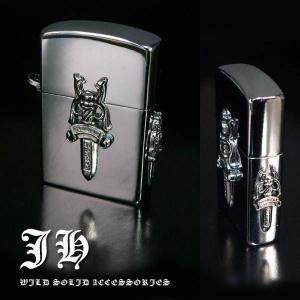 zi1 B品小傷有りの為 ダガー チェーン付ライター|swan-hoseki
