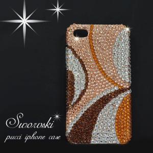 全機種対応 スマホカバー スワロフスキー デコ プッチ柄  iPhone 11 pro Max X 8 7 6s Plus SE XS Max XR ケース Xperia GALAXY AQUOS PHONE ARROWS カバー|swasuwa