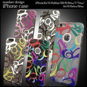 iphone Xs XR XsMax 8 7 6 6s plus ケース アイフォン10s 8 7 6s PLUS カバー 数字 人気 おすすめ ハードケース プレゼント ポスト便 200円 選択OK|swasuwa