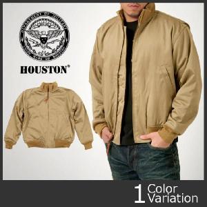 HOUSTON(ヒューストン) タンカース ジャケット カーキ #5B-1x|swat