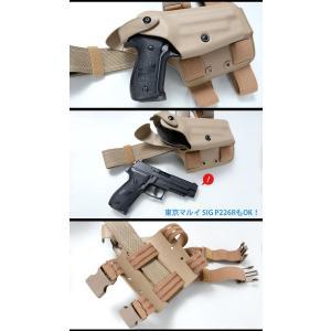 SAFARILAND(サファリランド) Model 6004 タクティカルレッグホルスター (SIG P226/220)|swat|03