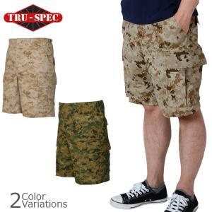 TRU-SPEC(トゥルースペック) BDUショートパンツ(6ポケット) デジタルカモフラージュ各種 swat
