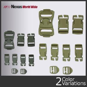 ITW NEXUS(ITWネクサス) バックルリペアキット 9ピースセット|swat