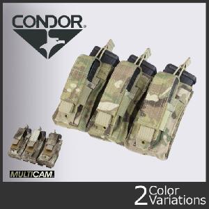 CONDOR コンドル トリプル カンガルー マガジン ポーチ Triple Kangaroo Mag Pouch MA55 A-939|swat