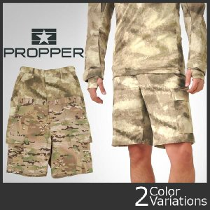 PROPPER(プロパー) BDUショーツ 6ポケット マルチカム/A-TACS (PR-40/41)|swat