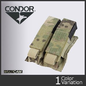 CONDOR コンドル ダブルピストル マガジン ポーチ Double Pistol Mag pouch MA23 A-957-MUL|swat