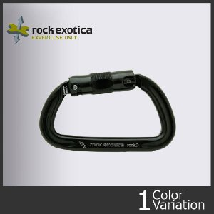 ROCK EXOTICA(ロックエキゾチカ) ロックD オートロック カラビナ【クロネコDM便対応】 (A-987)|swat