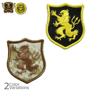 ミリタリーワッペン ネイビーシールズ ゴールドチーム デヴグル パッチ (PP-303/305) ネコポス対応|swat