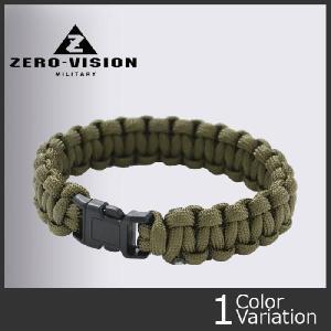 """ZERO(ゼロ) ZERO 9""""パラコード ブレスレット swat"""