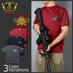 ALL KING(オールキング) フラッグプリント 各国国旗 ドライTシャツ swat